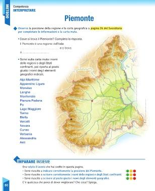 Cartina Muta Delle Alpi.Page 82 Sussidiario Delle Discipline 5 Geografia